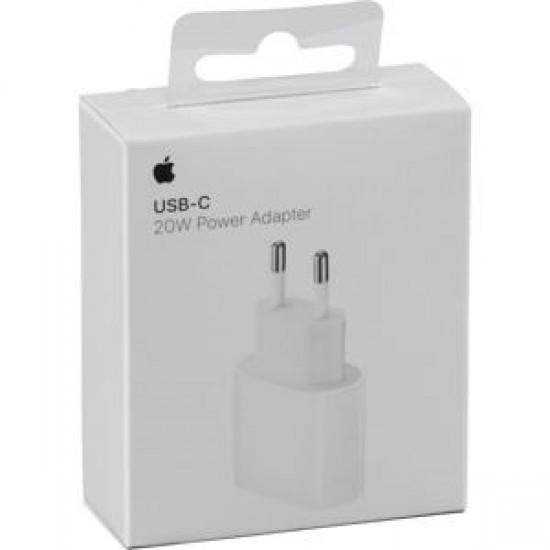 Φορτιστής Apple Travel Charger USB-C Wall Charger Adapter Λευκό 20W MHJE3ZM/A