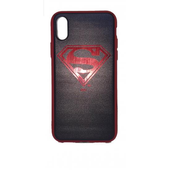 Apple Silicone Case iPhone X / XS Cartoon Superman
