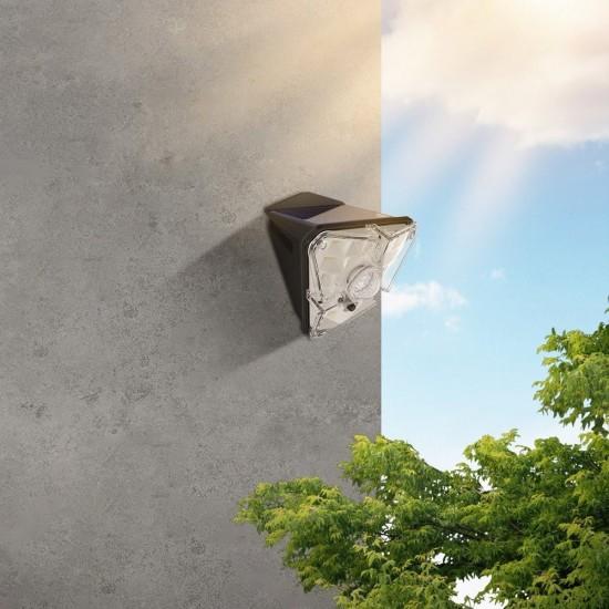 Προβολέας Baseus outdoor garden solar street LED lamp with a motion sensor black (DGNEN-A01)