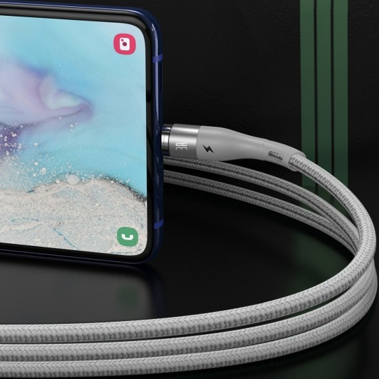 Καλώδιο Micro USB magnetic cable - USB Baseus Zinc 2.1A 1m (white)