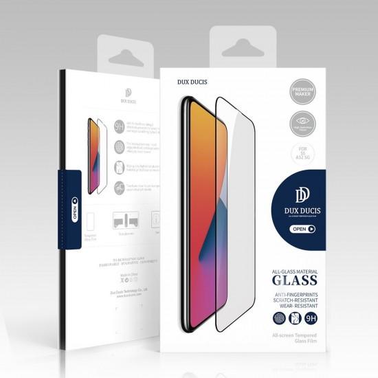 Γυαλί Προστασίας Dux Ducis 9D Tempered Glass Tough Screen Protector Full Coverage with Frame for iaomi Redmi 10X 4G / Xiaomi Redmi Note 9 black (case friendly)