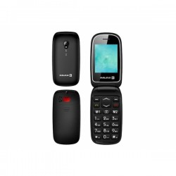 Evelatus WAVE Dual Sim Black Ελληνικό Μενού