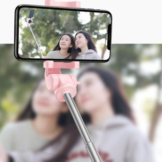 Baseus Selfie Stick with Tripod Telescopic Stand and Bluetooth remote controll black (SUDYZP-E01)
