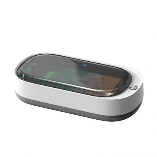 Αποστειρωτής Τηλεφώνου Mobile UV sterilizer for disinfecting phones white