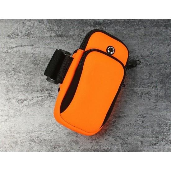 Θήκη Μπράτσου Running armband sports phone band case (max 78 x 162 x 14) mm black