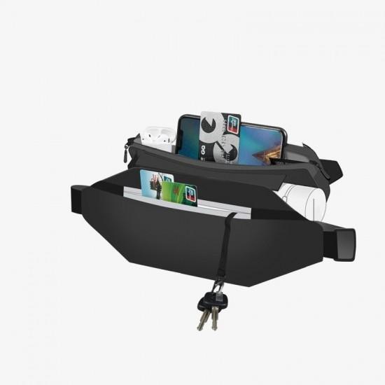 Τσάντα ώμου Shoulder Sling Backpack Ultimate Running Belt bag for keys wallet documents black