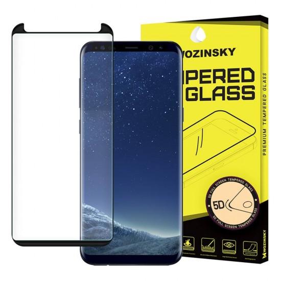 Screen Protector - Wozinsky Tempered Glass 5D Full Coverage Full Glue Case Friendly Samsung Galaxy S8 black