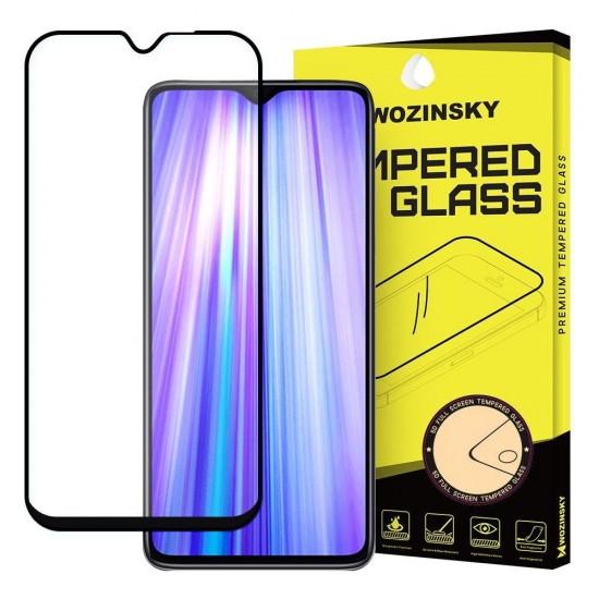OEM Screen Protector - Wozinsky Tempered Glass Full Glue Case Friendly Xiaomi Redmi Note 8 Pro black
