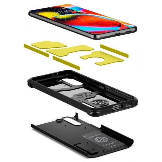 Θήκη Σιλικόνης Spigen Tough Armor For Samsung Galaxy S20 Fe Black