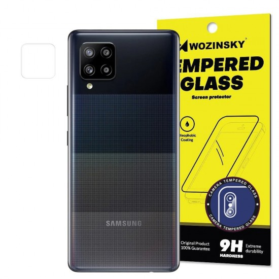 Camera Tempered Glass Protector Wozinsky super durable 9H glass protector For Samsung Galaxy A42 5G